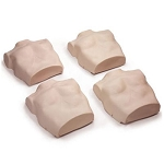Medium Torso Skin Replacements for Prestan Adult Manikin (4-Pack)