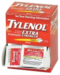 Extra Strength Tylenol - 100 Tablets per Dispenser Box