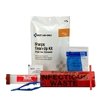 Bagged Sharps Clean-Up Kit