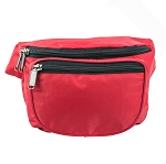 BLANK FANNY PACK - SMALL (RED)
