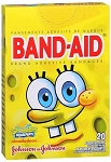 SpongeBob Squarepants Band-Aids, Box/20