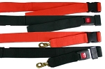 2 Pc 7' Nylon Strap Metal Buckle