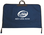 Softpack blue AED Little