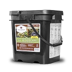 60 Serving Emergency Survival Freeze Dried Meat Bucket