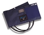 Mabis - Infant Blood Pressure Cuff & 2-Tube Bladder Blue - Nylon