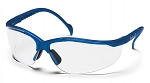 VENTURE II - Clear Lens with Metallic Blue Frame