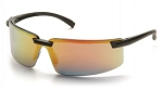 SURVEYOR - Ice Orange Mirror Lens with Black Frame