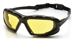 HIGHLANDER PLUS - Amber H2X Anti-Fog Lens with Black/Gray Frame