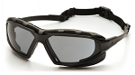 HIGHLANDER PLUS - Gray H2X Anti-Fog Lens with Black/Gray Frame