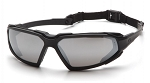 HIGHLANDER - Silver Mirror Anti-Fog Lens with Black Frame