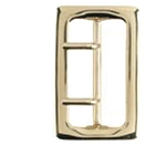 Sam Browne Buckle Place On 2-1/4-Inch Belt (Brass)