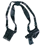 Gold Line Shoulder Holster (Black)