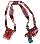 Gold Line Shoulder Holster (Chestnut Brown)