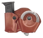 Gold Line Cuff Case/Mag Case Combo (Chestnut Brown)