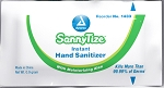 SannyTize Hand Sanitizer, 0.9g Packets, 12/144/cs