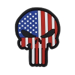 PVC Punisher Patches ( 6 PCS/ PACK )