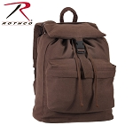 Brown Canvas Day Pack