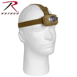 Deluxe Coyote Brown 5-Bulb LED Headlamp