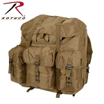 GI Type Large Coyote Brown ALICE Pack w/Frame