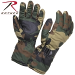 Woodland Camo Deluxe Xtra-Long Insulated Gloves