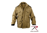 Coyote Brown Soft Shell Tactical M-65 Jacket