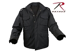 Black Soft Shell Tactical M-65 Jacket