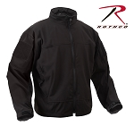 Black Lightweight Soft Shell Jacket