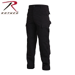 Black Combat Uniform Pants