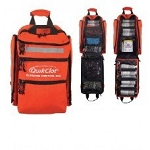 QuikClot Bleeding Control Bag and First Aid kit