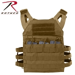 Coyote Brown Lightweight Plate Carrier Vests