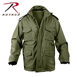 Olive Drab Soft Shell Tactical M-65 Jacket