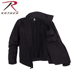 Black Lightweight Concealed Carry Jacket