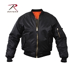 Black MA-1 Flight Jacket
