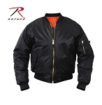 Kids Black MA-1 Flight Jacket