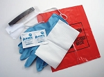 AED First Responder Kit with CPR MICROSHIELD-PLUS in Nylon Pouch