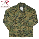 Woodland Digital Camo M-65 Field Jacket