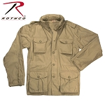 Khaki Lightweight Vintage M-65 Field Jacket