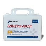 16 Unit First Aid Kit, ANSI A,  Plastic Case