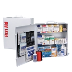 3 Shelf First Aid ANSI B+ Metal Cabinet, with Meds
