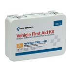 25 Person Vehicle ANSI A+ First Aid Kit, Metal Case