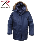 Navy Blue N-3B Parka