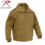 Coyote Brown Spec Ops Tactical Fleece Jacket