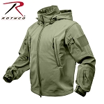 Olive Drab Special Ops Tactical Soft Shell Jacket