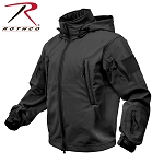 Black Special Ops Soft Shell Jacket
