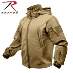 Coyote Brown Special Ops Soft Shell Jacket