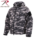 Subdued Urban Digital Special Ops Soft Shell Jacket