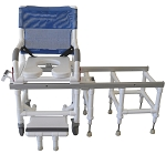 Deluxe Dual Shower Chair/ Transfer Bench