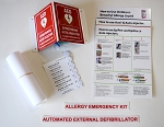 Allergy Emergency Kit Conversion Kit for AED Cabinets