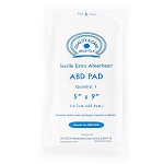 Sterile Extra Absorbent ABD Pad (5