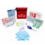 45-Piece First AId Kit in Travel Pouch